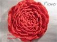 Предлагаю мастер-класс по вязанию объёмных цветочков. вязаные цветы схема вязания цветов вязание цветов крючком Схема.