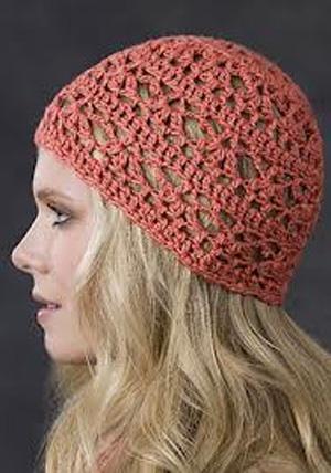 Крючком украшения для летних шапок