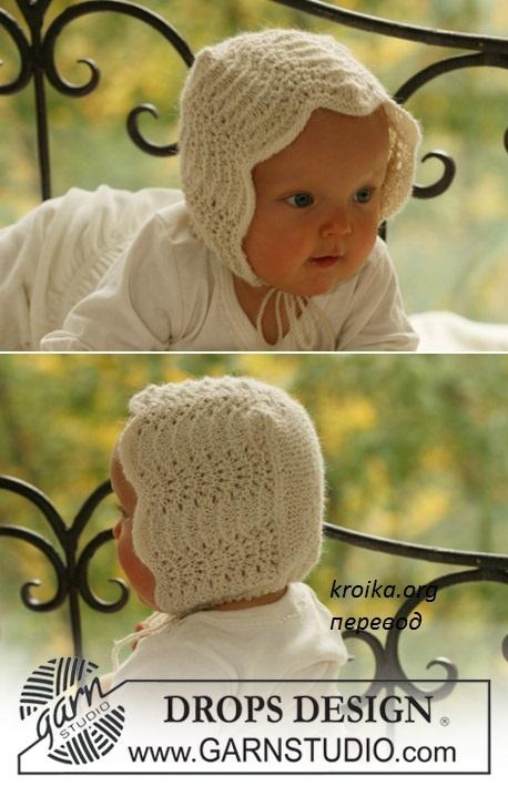 Схема вязания шапочки не