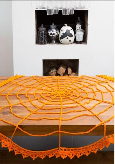 вязание салфетки