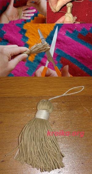 Бубон для шапки как сделать из пряжи - Mobblog.ru