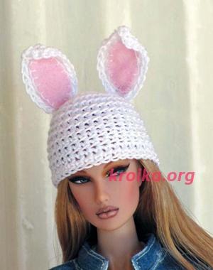 шапка Зайка