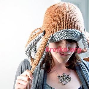 шапка Осьминог