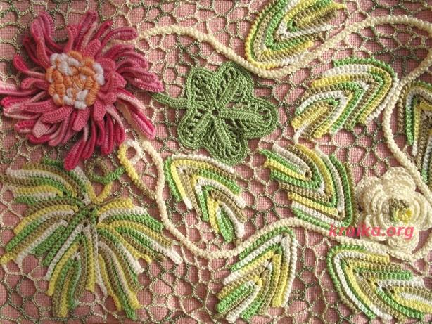 фрагменты цветы вязание цветов схемы вязания цветов цветы крючком