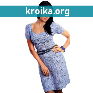 Вязаное платье крючком Trill