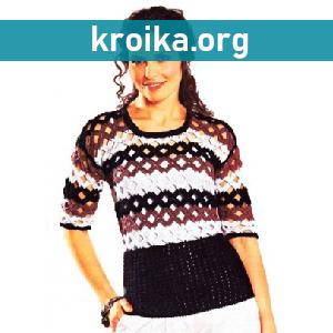 Пуловер Rhombus