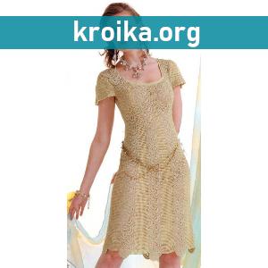 Платье крючком Magic Lace