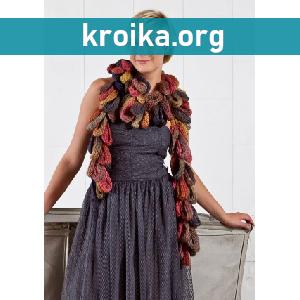 Вязание шарфа Loop