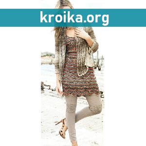 Платье спицами Viki