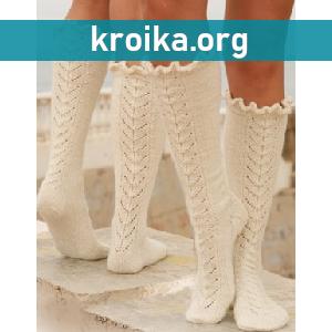 Вязание носков для детей спицами. Схемы с фото и описанием ...