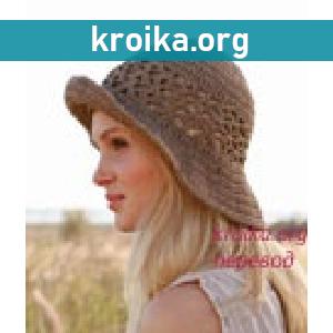 Вязаная шляпа крючком  Mara