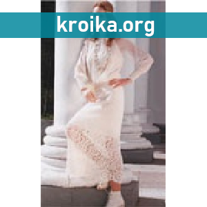 Вязаная юбка крючком Lace Frolar