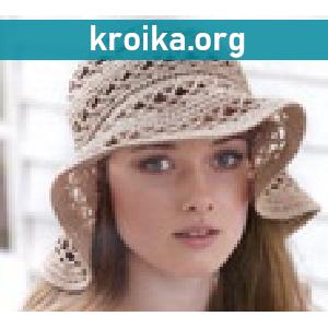 Обзор летних модных вязаных шляп лето 2014