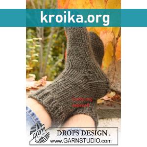 Простая схема вязания носков