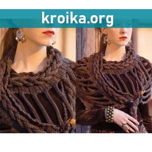 Модное вязание на осень 2014