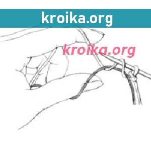Как перенести петли на нить
