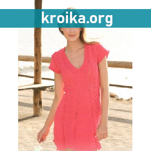 вязаные спицами платья описание вязания платья спицами со схемами
