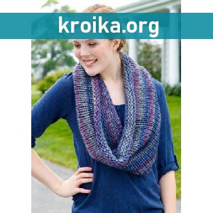 Вязаный шарф Nonary